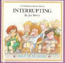 Interupting Joy Berry Book